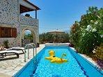 Villa Amour, 3 bedroom villa with private swimming pool and air-con