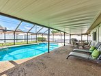 Private Screened in pool with Seating. Pool Heat Optional Add-On