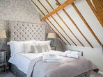 A characterful and stylish room