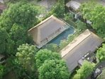 Sanur surf camp bali from the sky