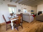 Winterton Cottage - Dining and Lounge Area