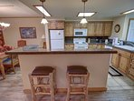Breakfast bar for your quick meals before enjoying all the activities in Keystone.
