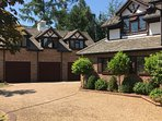 Entire large apartment set within Private gated Estate separate from mansion home with own entrance.
