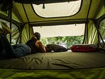 Roof top Tent size
