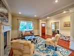 Unwind in the beautifully decorated formal living room and settle in.