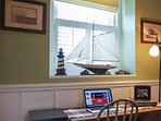 Work space - perfect for business travelers