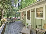 Couples can stay at this newly updated vacation rental studio cottage.