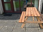 New for 2918 a Picnic Bench for outside patio.