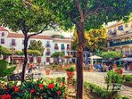 Beautiful town of Estepona is a short drive away