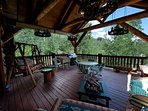 Custom Built Log Cabin - Classic Colorado - Deck - Gas Fire Pit/BBQ/Views