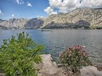 Views of Kotor Bay from The Stone House, 165 Prcanj