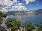 Views of Kotor Bay towards Perast at The Stone House, 165 Prcanj