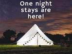 Burnham Market Bell tents by 2posh2pitch on the North Norfolk coast