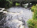 Easkey riverside walk beside Rest Easkey