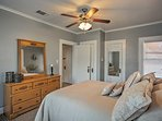 Those sharing the third bedroom will also enjoy a queen bed.