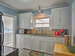 This charming kitchen comes fully equipped with everything you need to prepare your favorite meals.
