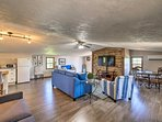Enjoy the updated living space and 2 private balconies.