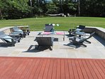 The patio makes a great spot to sip a cocktail and enjoy the peace & quiet - 29 Bellamy Lane North Chatham Cape Cod...