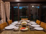 Homely meals can be prepared at the villa