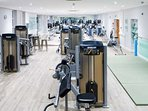The gym at Goodwood