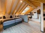 Luxus-Dachloft zum Träumen im Apartmenthaus Horster in Bensheim