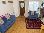 Sitting room with stable door