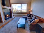 Enjoy views of Mt. Buffalo from the the living room.
