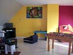sala giochi al piano di sopra 30 m²