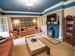 The Communal Lounge with free WI-FI, Freeview TV and a range of DVDs