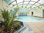 The Elmfield Year Round Heated indoor Pool With toilet and changing room