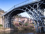 the world famous arched Ironbridge at the world heritage site!
