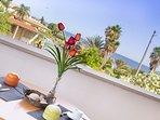 Appartamento con vista mare in splendida Villa