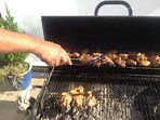 Chrishina's Jerk Chicken available on request
