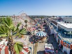 To do: Belmont Park Historic oceanfront amusement park located in Mission Bay; 10-15 min drive.
