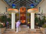 Atrium Beach Resort Entrance
