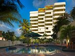 Atrium Beach Resort Exterior and Pool