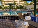 Atrium Beach Resort Pool Patio