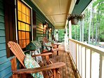 Enjoy  and relax on the front porch