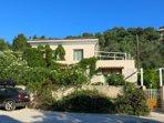 Villa Tzitzicas è l'unica villa con giardino privato a Loggos