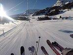 Over 200km of ski runs