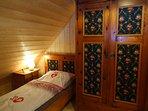 Die Jägerstube - 120 Jahre altes Bauernschlafzimmer aus dem Salzburger Land.