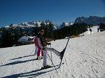 Auf dem Hornspitz - Skigebiet Gosau / Dachstein-West