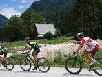 Die Route des Salzkammergut Trophy MTB-Rennen führt direkt bei uns vorbei (2. Wochenende Juli)
