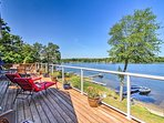 NEW! Lavish Home w/2 Decks & Dock on Big Fish Lake