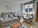 Comfy sofas for relaxing on (with a double sofabed underneath, if needed)