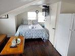 Quiet open plan loft