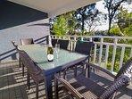 Enjoy the tree top view from the verandah