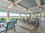 Utilize the clubhouse for family game night or an evening BBQ.