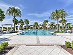 A luxurious shared pool awaits your party of 6 in this Riverview townhome club.