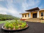 Outdoor villa view